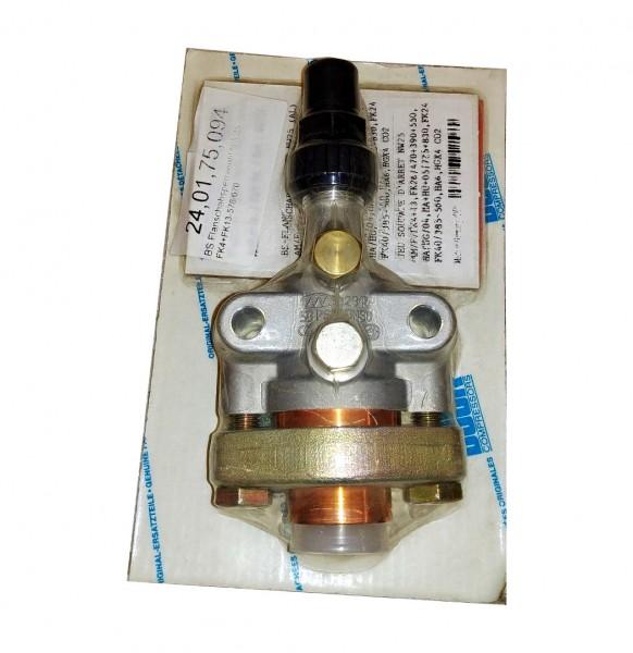 Absperrventil Druck/Saug NW25