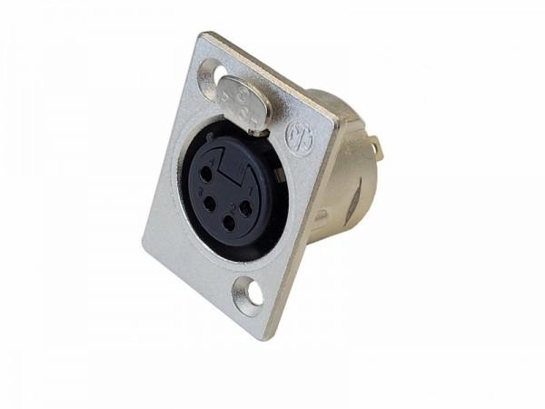 XLR-Buchse für Mikrofonkabel