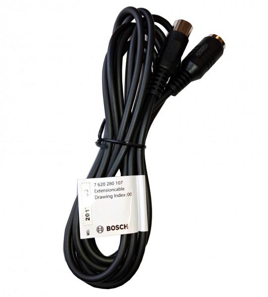 Verlängerungskabel Mikrofon 3m 4 pol. DIN