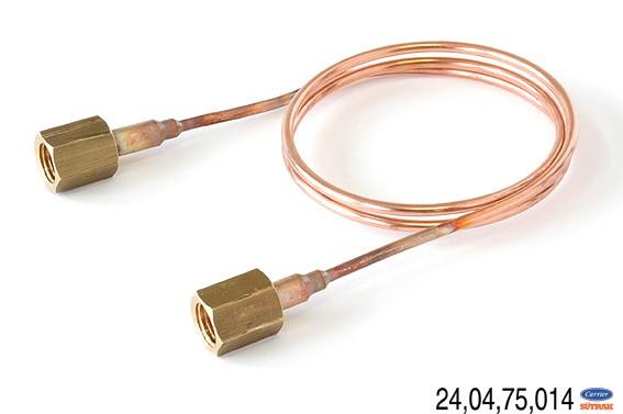 D-Ausgleichsleitung 2x7/16UNF L0.6m D3mm