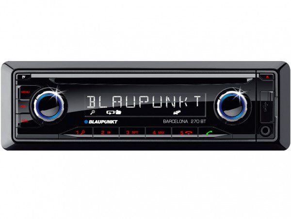 Barcelona 270 BT 12V (Bluetooth USB / SD / iPod / AUX-IN / CD)